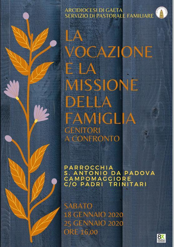 La Vocazione e la Missione della Famiglia