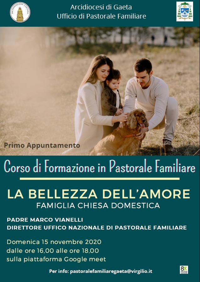 Corso di formazione per Pastorale Familiare